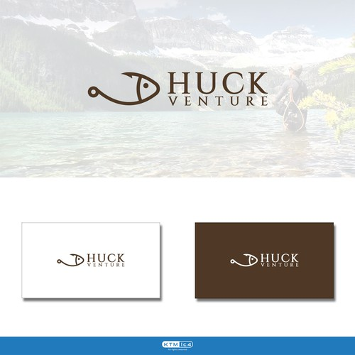 Venture logo with the title 'Huck Venture'
