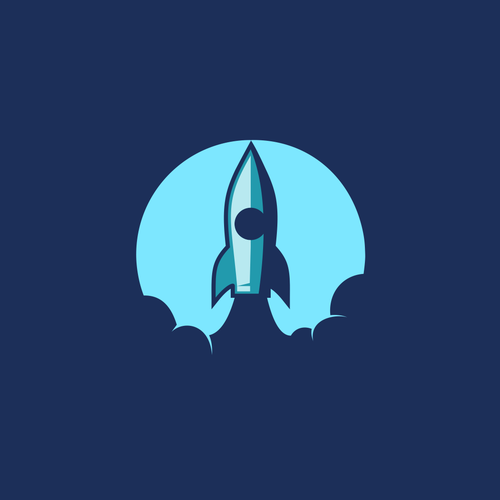 Launch design with the title 'Rocket Expert'