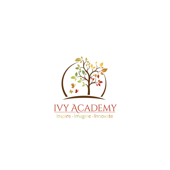 Ivy logo with the title 'Logo IVY Academy'
