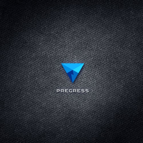 Service brand with the title 'Progress'