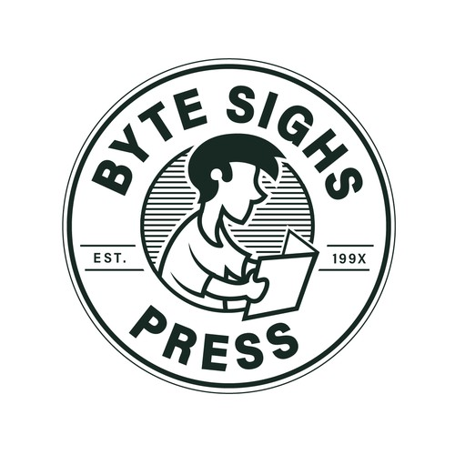 Press logo with the title 'Byte Sighs Press'