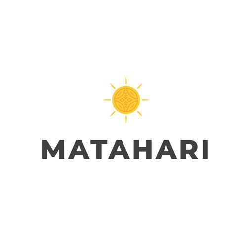"Indonesian design with the title 'Matahari ""sun""'"