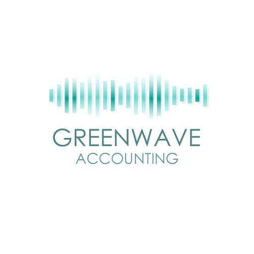Frequency logo with the title 'logo for small accounting firm'