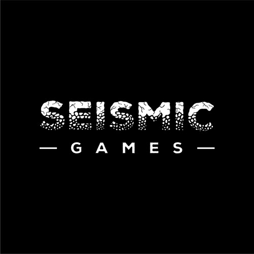 Hand lettering design with the title 'Hand-Lettered Typography Logo for Video Game Co.'