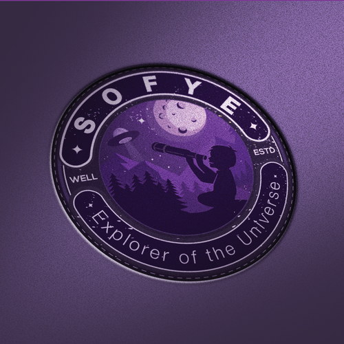 Moon design with the title 'Logo for SOFYE'