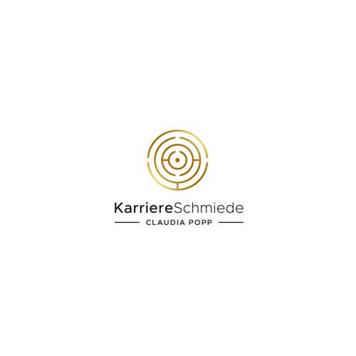 Coach design with the title 'KarriereSchmiede'