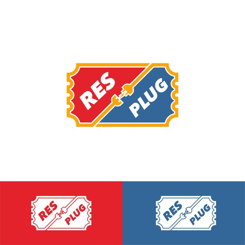 Plug logo with the title 'res and plug'