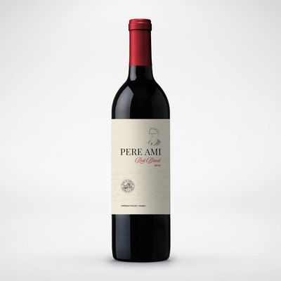 Pere Ami Wine Label