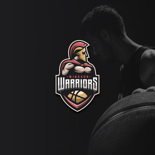 Trojan logo with the title 'Windsor Warriors'