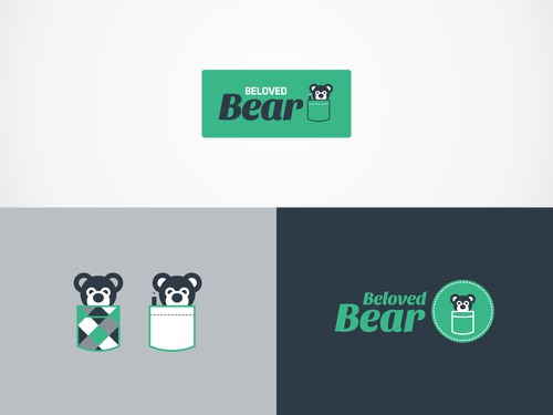 Pocket design with the title 'Beloved Bear'