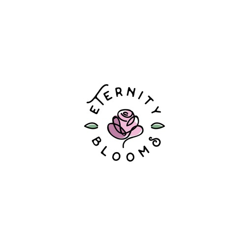 Bloom logo with the title 'Design a Logo for a Flower Startup'