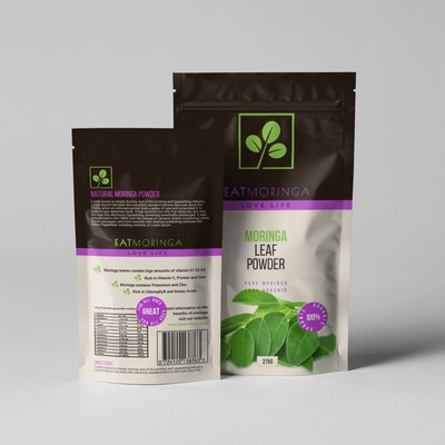 product design for Eat moringa