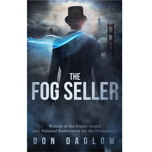 Book cover with the title 'fog seller'