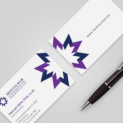 Business Card Design for Legal