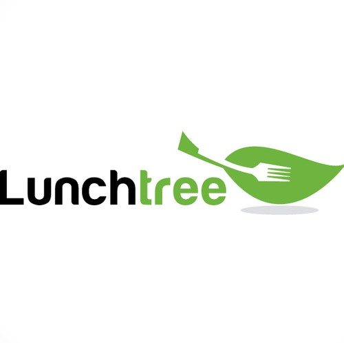 Lunch logo with the title 'conceptual logo'