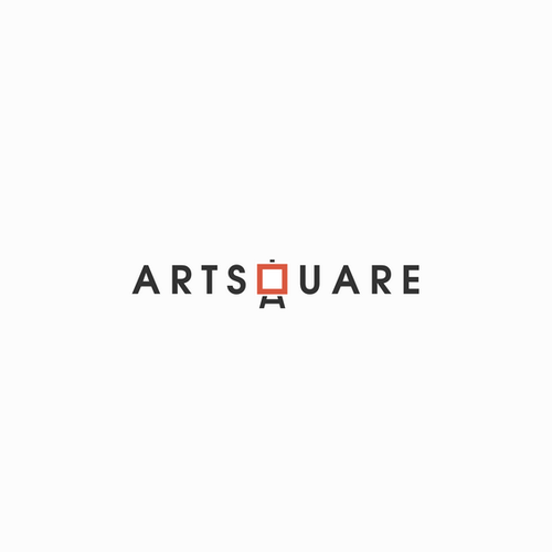 Artwork logo with the title 'ArtSquare needs a logo. Launch your career by helping us launch ours.'