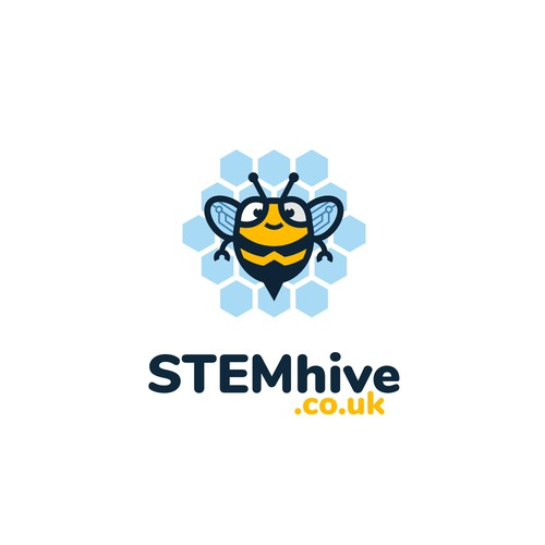 Hive design with the title 'STEMhive.co.uk'