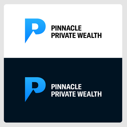 Bank logo with the title 'Logo Concept for Private Wealth'