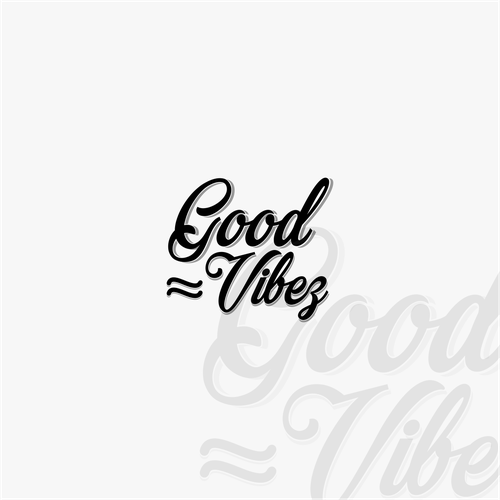 Good logo with the title 'good vibes'