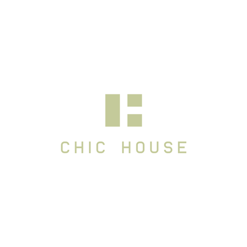 Marketplace design with the title 'CHIC HOUSE'