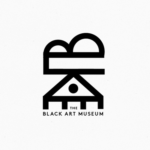 Bauhaus logo with the title 'Logo for Black Art Museum'