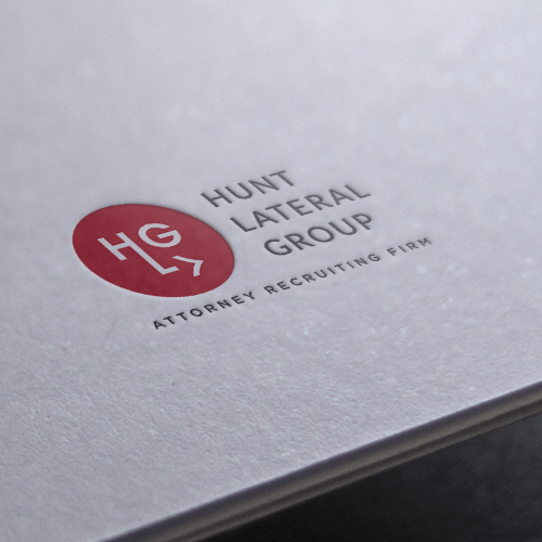 Human resources logo with the title 'Creative logo for HR start up: www.huntlateralgroup.com'