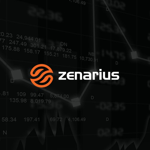 Cyber security logo with the title 'Zenarius'