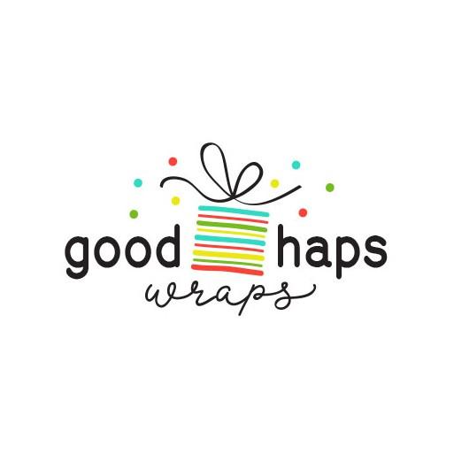 Confetti logo with the title 'GoodHapsWraps'