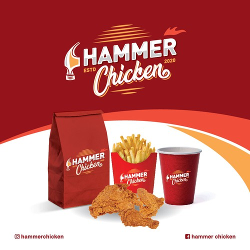 Chicken design with the title 'Hammer Chicken'