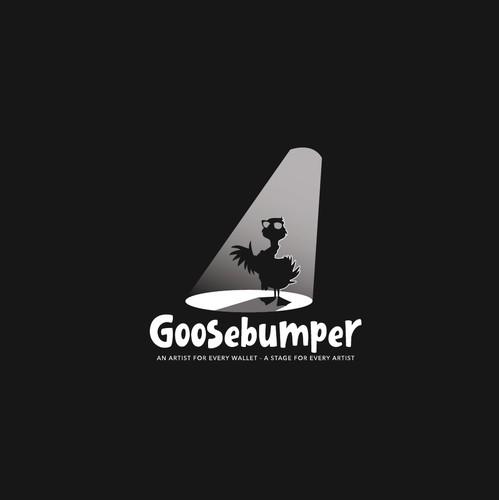 Spotlight design with the title 'Goosebumper'