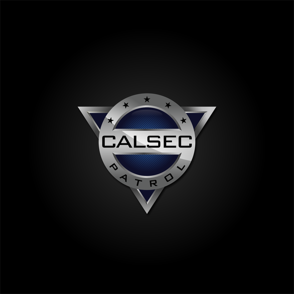 Security logo with the title 'Calsec Patrol Logo'