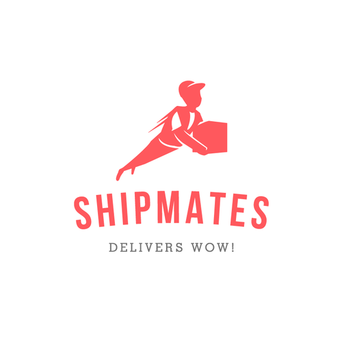 Shipping design with the title 'Character Logo for Shipmates'