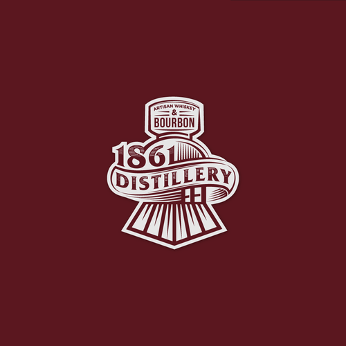 Whiskey brand with the title 'whiskey logo'