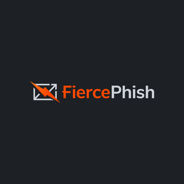 Open source design with the title 'Striking logo for open-source phishing framework'