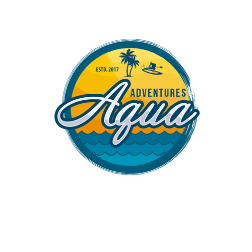 Island brand with the title 'Aqua adventures'