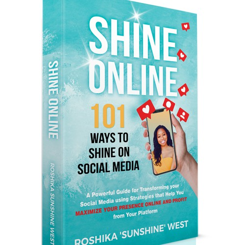 Shine design with the title 'Shine Online'