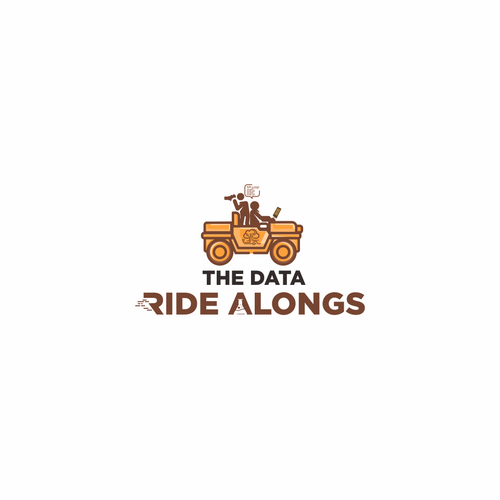 Database logo with the title 'The Data Ride Alongs'