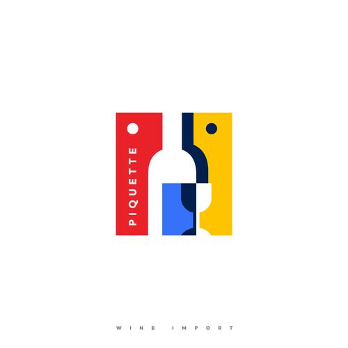 Profile design with the title 'PIQUETTE'