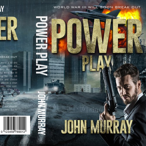 Science book cover with the title 'Power Play 2'