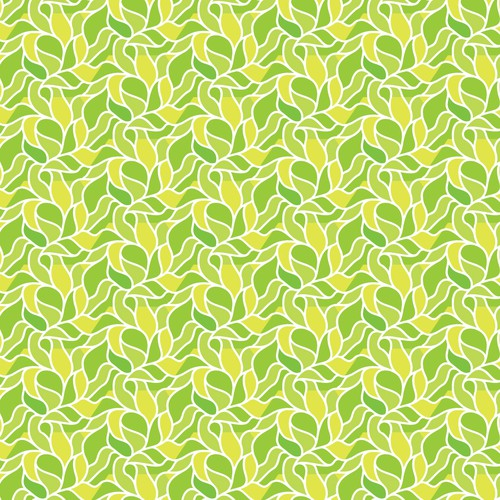Fresh illustration with the title 'Seamless natural pattern for preschool flashcard box.'