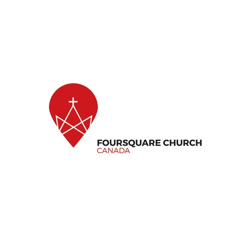 Maple leaf logo with the title 'Foursquare Church Canada'