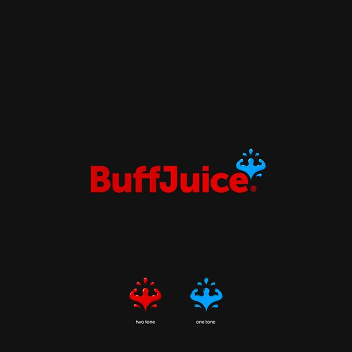 Strength logo with the title 'BuffJuice'