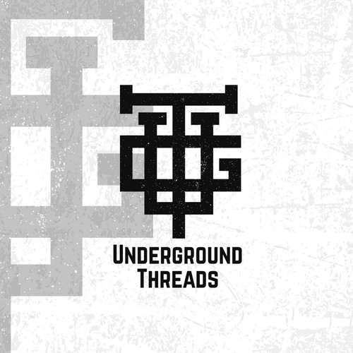 Underground logo with the title 'Monogram logo for a streetwear company'