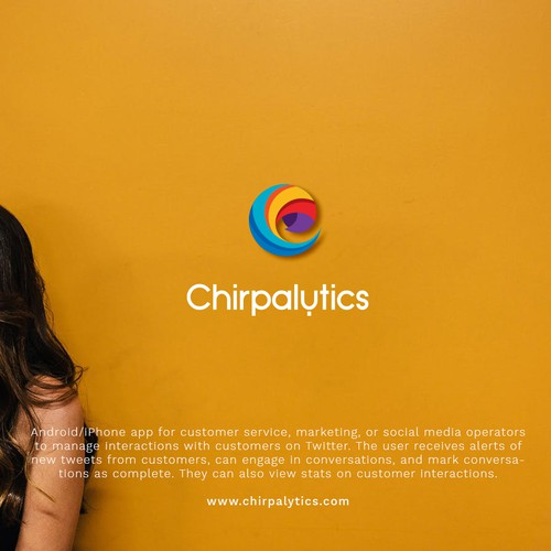 Young design with the title 'CHIRPALYTICS'