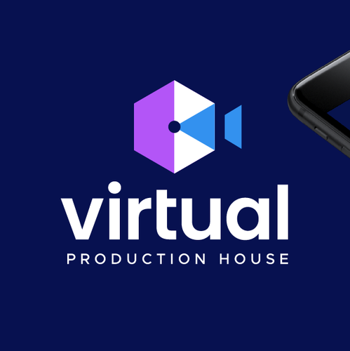 Vintage camera logo with the title 'Virtual Production House'