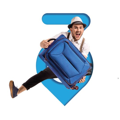 Number 3 logo with the title '3 day'