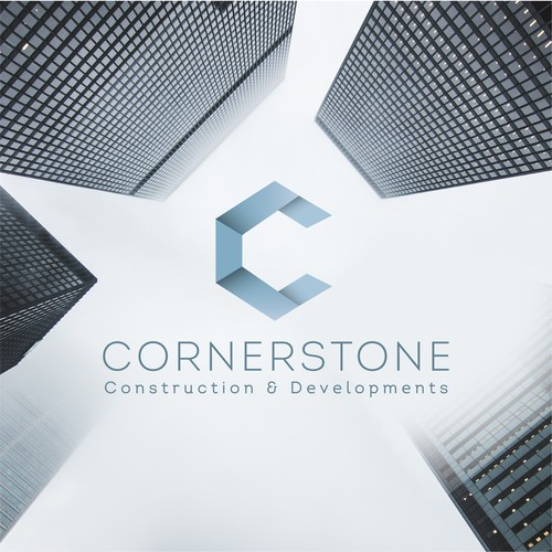 Corner design with the title 'CornerstoneC&D'