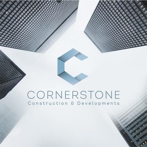 Corner design with the title 'CornerstoneC&D'