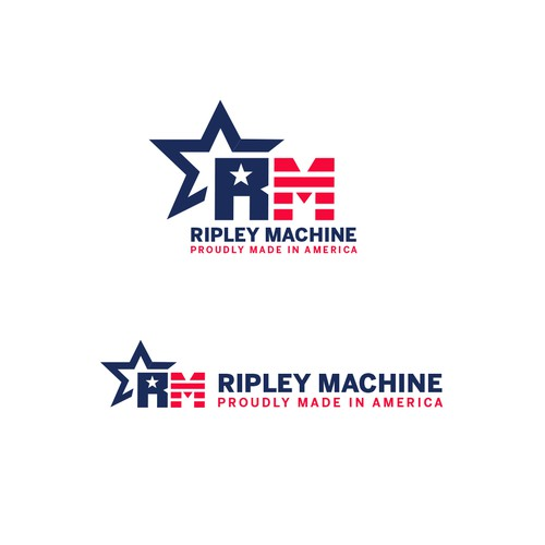 American logo with the title 'Ripley Machine'