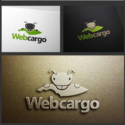 Ant design with the title 'Webcargo Logo'